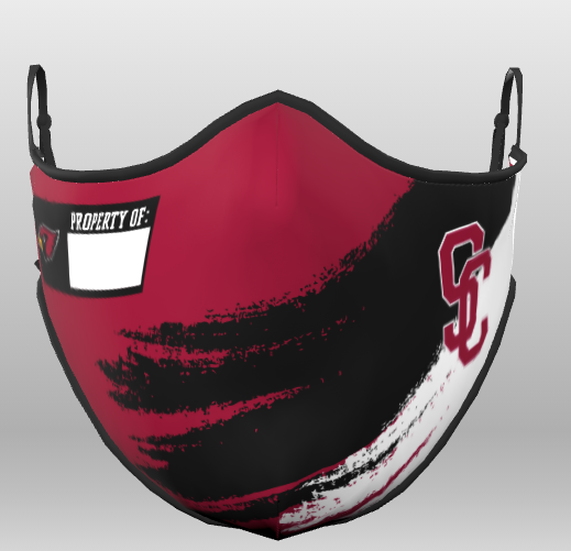 SCHS Cardinal Club Athletic Boosters mask